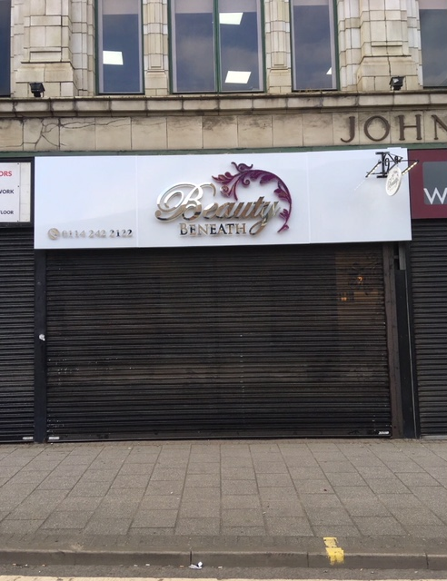 Illuminated signs company in Sheffield & Rotherham