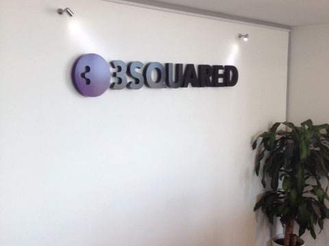 3d signs Sheffield for 3 Squared