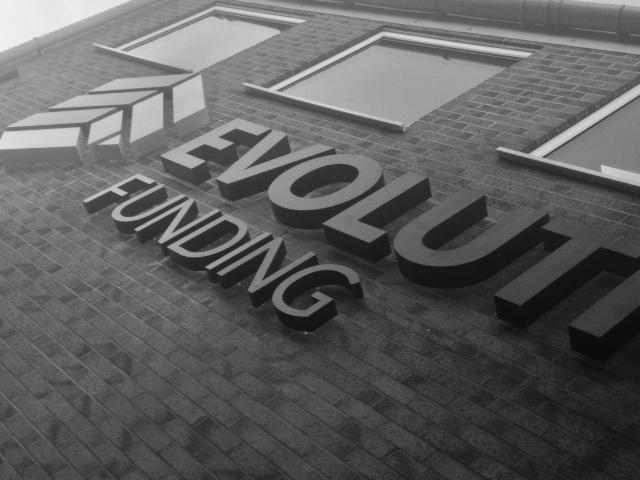 Evolution Funding 3D letters