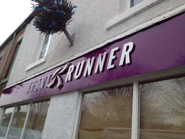 Front Runner Business Sign Sheffield
