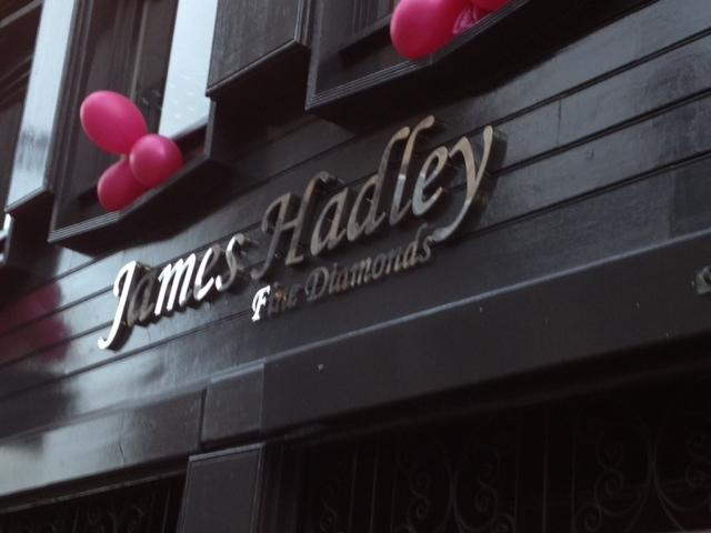 James Hadley Shop Sign Sheffield