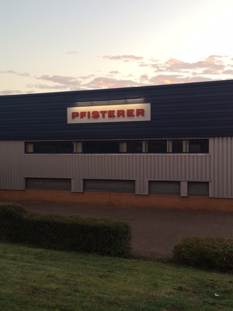 Pfisterer business signage Sheffield