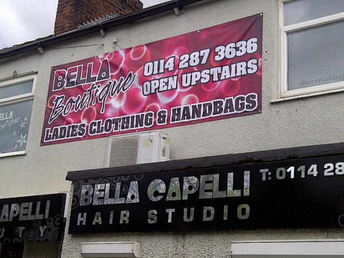 Bella Boutique - Digital Print Banners