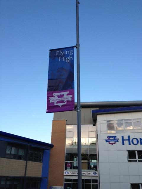 Horbury Academy - Lampost Banners