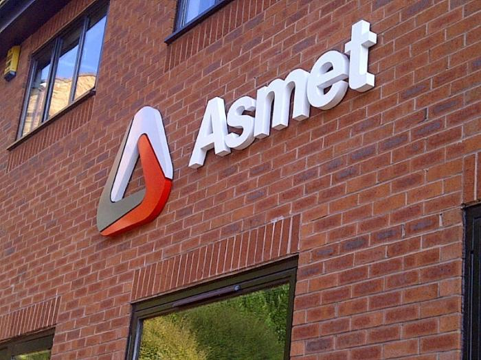 Asmet - 3D Sign Sheffield