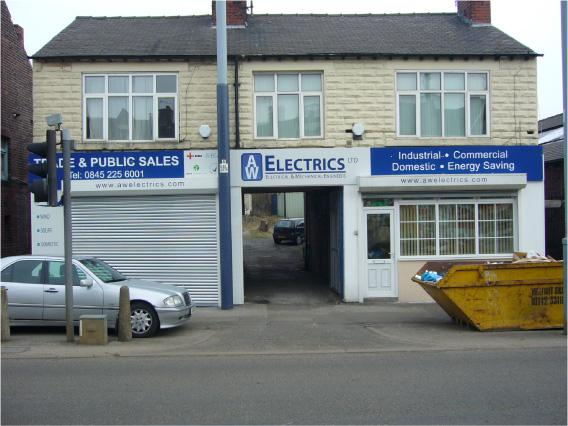 A W Electrics - Building Signage Sheffield