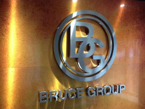 Bruce Group internal signage