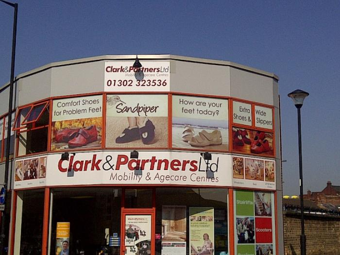 Clark & Partners Ltd - Dealership Signage Sheffield