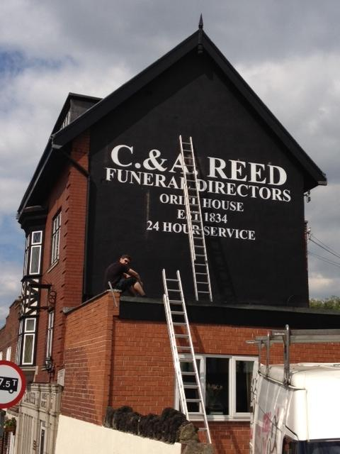 Gable End Sign Sheffield