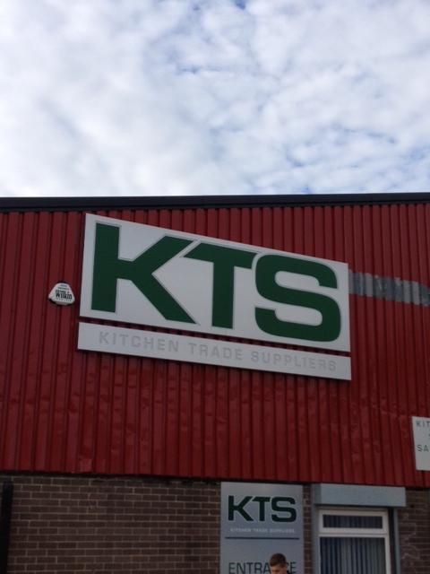KTS - Factory Sign Sheffield
