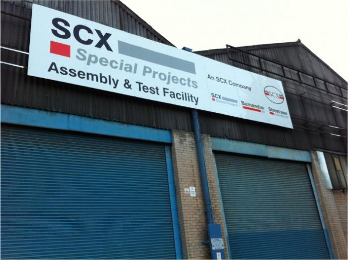 SCX - Industrial Signs Sheffield