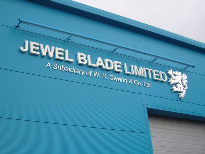 Jewel Blade Limited 3D lettering