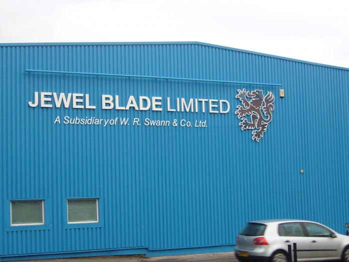 3D lettering sign Sheffield
