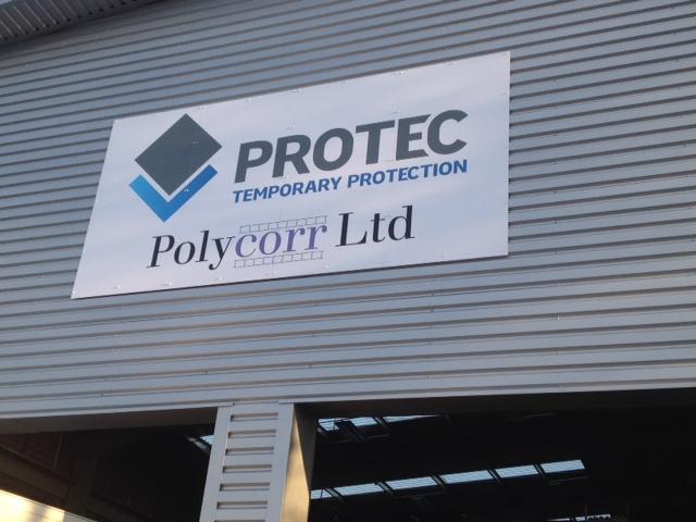 Polycor factory signs Sheffield