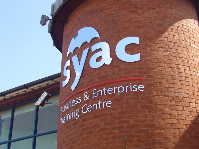 Syac - Steel Sign Sheffield