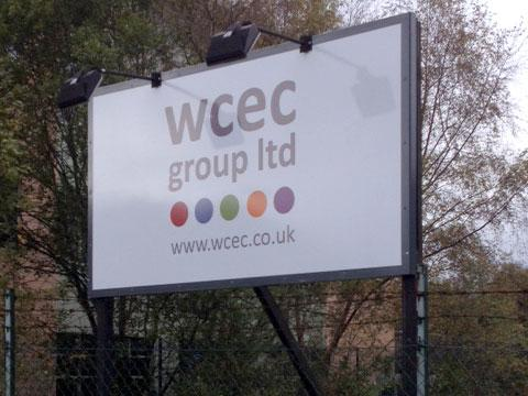 WCEC Group external signage
