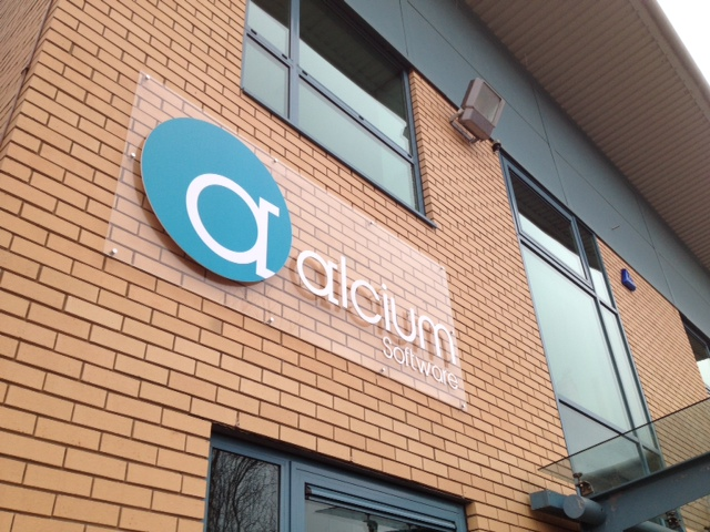 Alcium 3d signs Sheffield