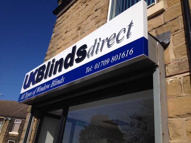Blinds Direct shop signs Sheffield