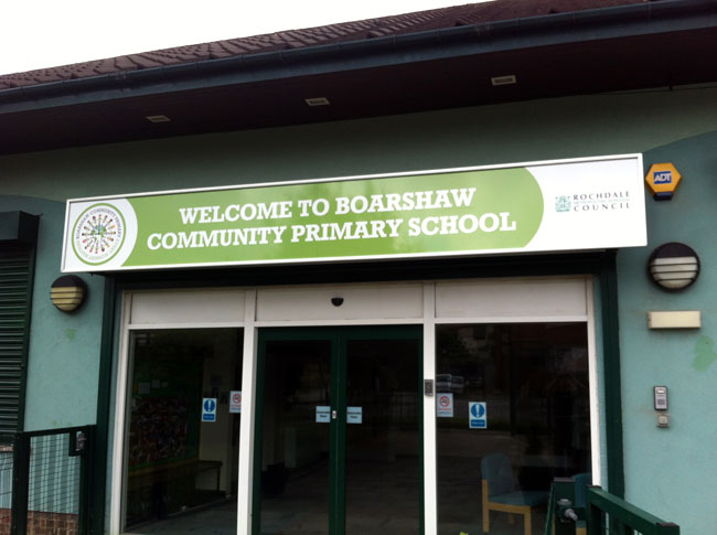 Boarshaw Community Primary School - School Signage