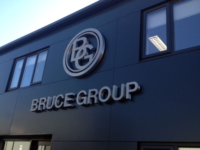 Bruce Group 3d Sign Sheffield
