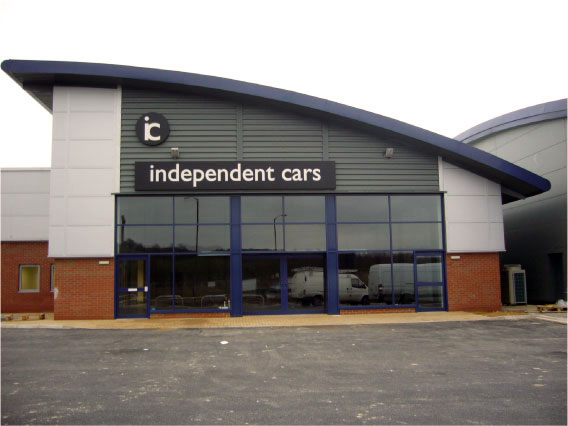 Independent Cars Front - Car Dealership Signage