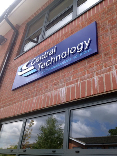 Signage Sheffield for Central Technology