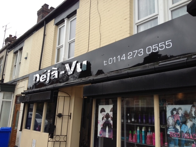 Hairdressers Salon Sign