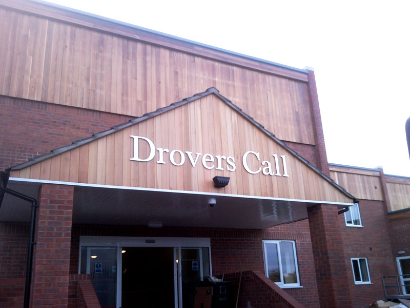 Drovers Call - Nursing Home Signage, outdoor signs Sheffield