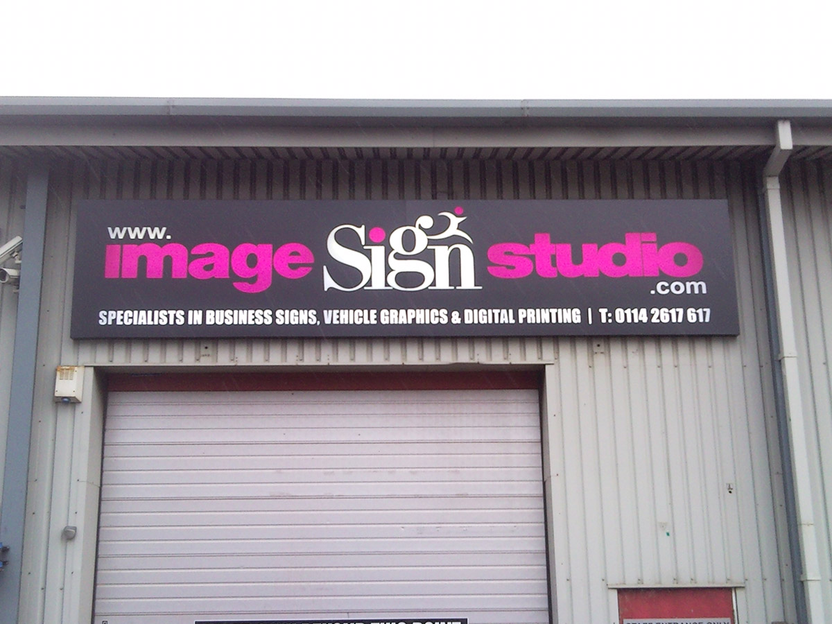 Image Sign Studio unit front