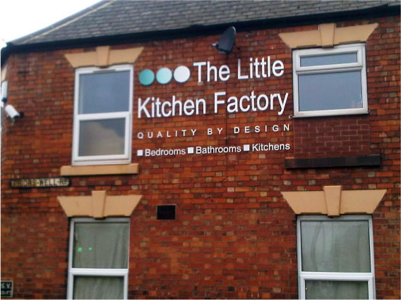 Little Kitchen Factory signs Sheffield