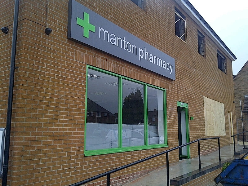 Manton Pharmacy - Pharmacy Signage