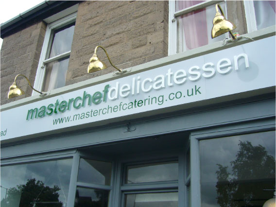 Masterchef Delicatessen - Sandwich Shop Sign