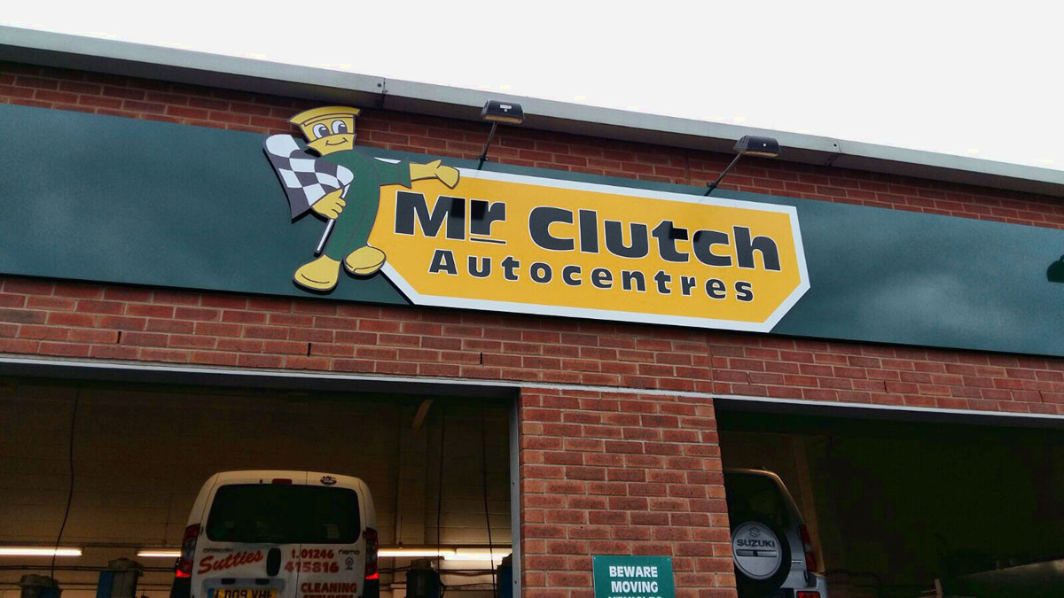 Mr Clutch business signage - 4