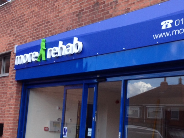 More Rehab signs by signmakers Sheffield