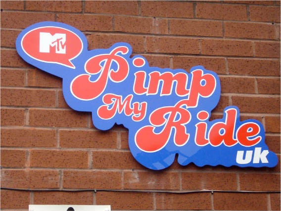 Pimp my Ride UK Wall Sign