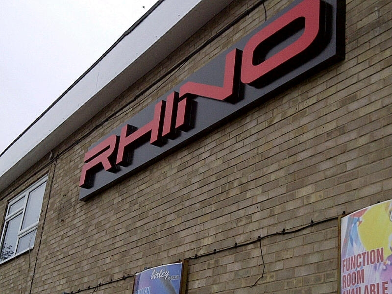 Rhino - Large Building Sign