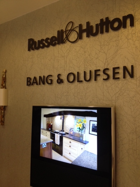 Russell & Hutton Kitchen Showroom Signage Sheffield