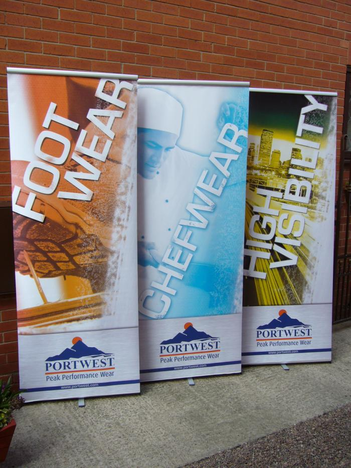 Roller banners for business