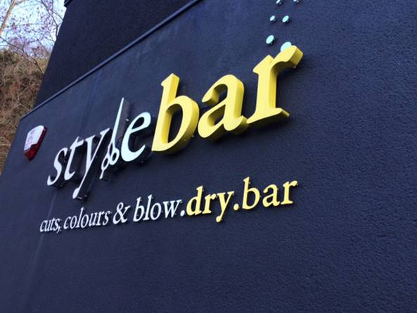 The Style Bar Sheffield Shop Sign