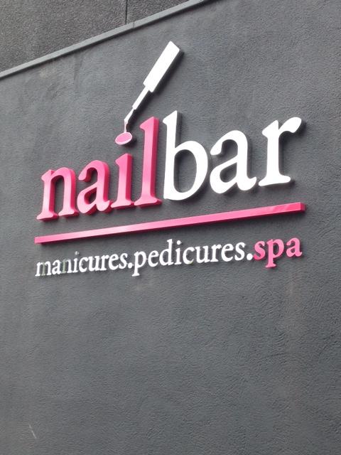 Nail Bar Shop Signs Sheffield