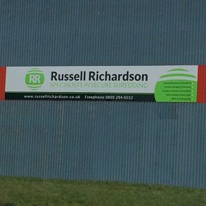 Russell Richardson retail signage Sheffield