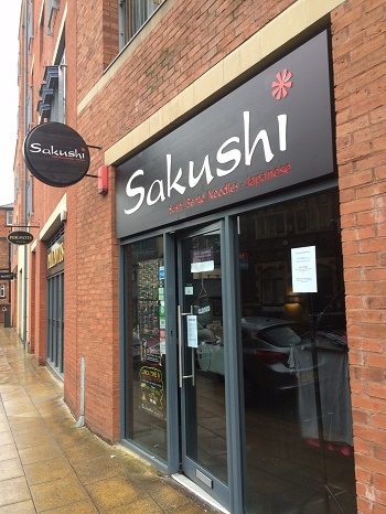 Sakushi, Sushi and Signage Sheffield