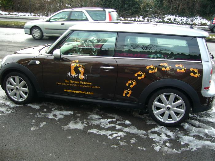 Reinforce Your Branding and Compliment Your Shop Sign Sheffield with Vehicle Livery