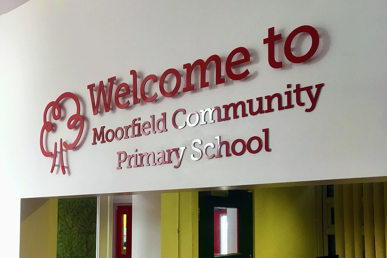 Image sign studio Sheffield & Rotherham providing excellence in signs for schools since 2007