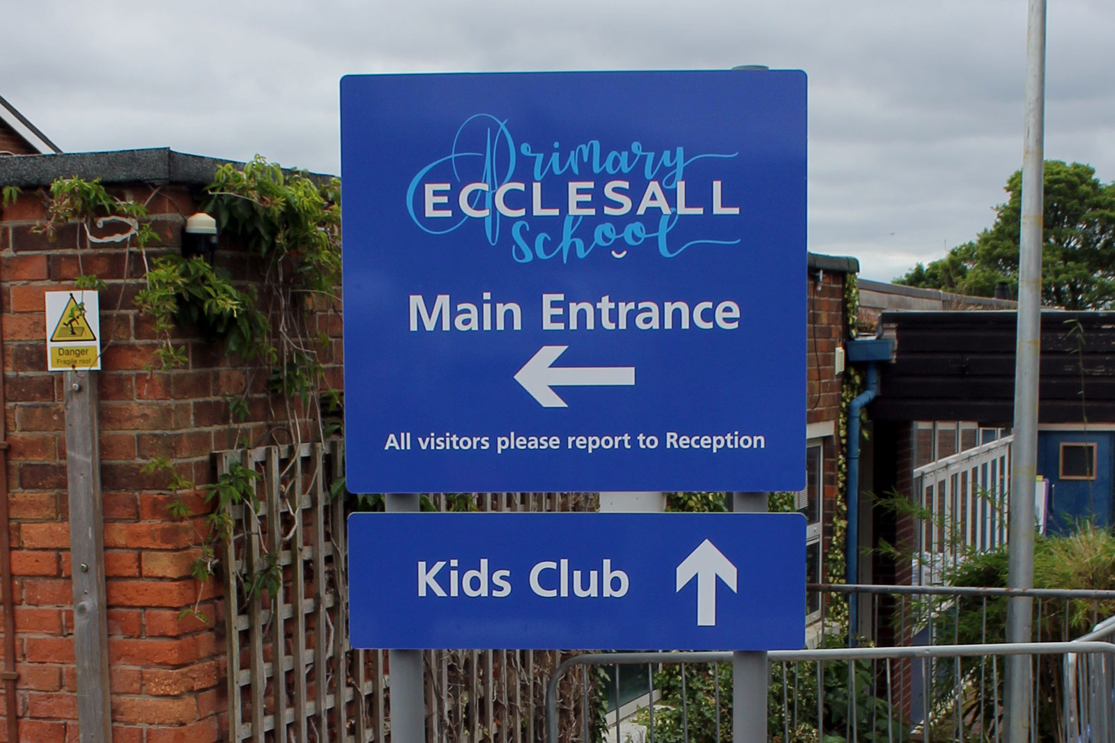 Sheffield & Rotherham Signmaker for schools