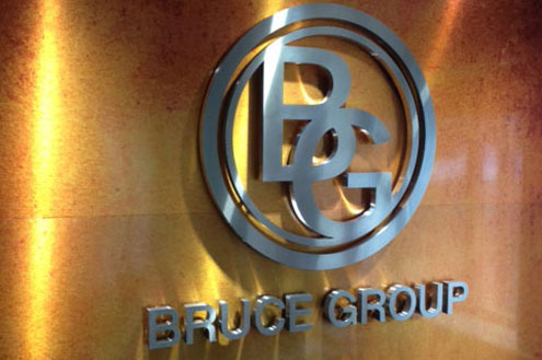 Bruce Group - metal signage Sheffield