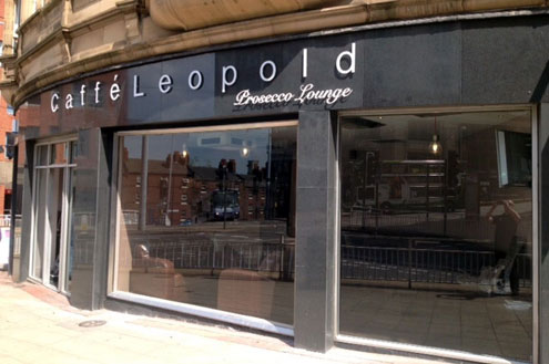 Caffe Leopold - Cafe signs Sheffield