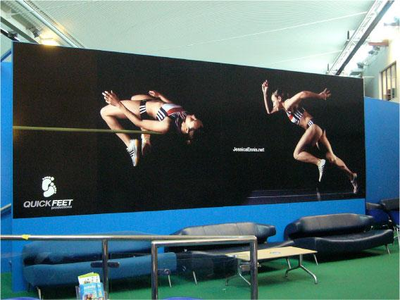 Wide format digital printing for sports
